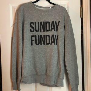 Sweaters - Sunday Funday Crew Neck